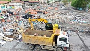İskitler'de Temizlik! Ankara Zabıtası'ndan Atıkla Mücadele...