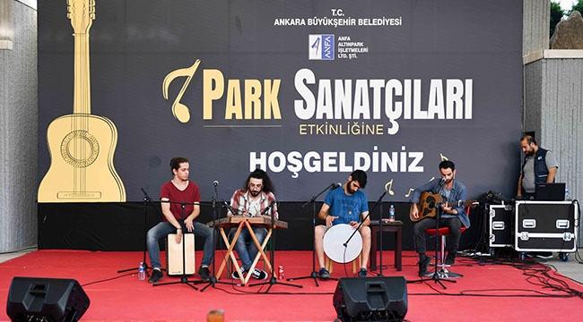 Ankara Sanatın Da Başkenti! Metrodan Sonra Parklar Da Sanata Ev Sahipliği Yapıyor...