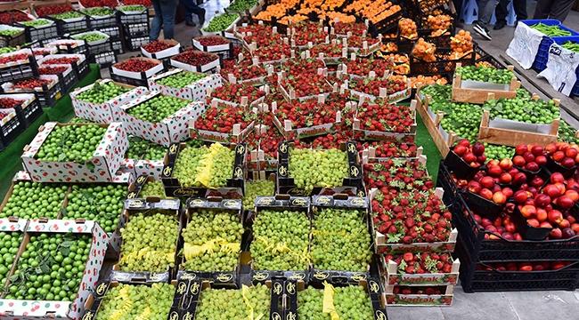 Toptancı Hal Verilerine Göre 767 Bin Ton Sebze Meyve Tüketildi! İşte Ankaralıların En Çok Tükettiği Sebze ve Meyveler...