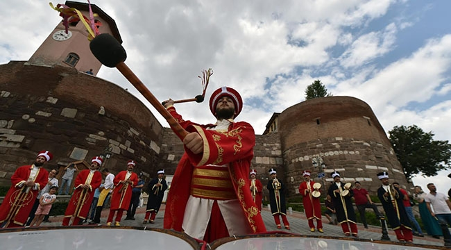 Ankara Kalesi'nde Mehter Konserleri