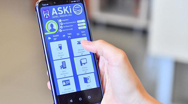 ASKİ'den Ankaralıların Hayatını Kolaylaştıracak Adım... Mobil Uygulamada Neler Var?