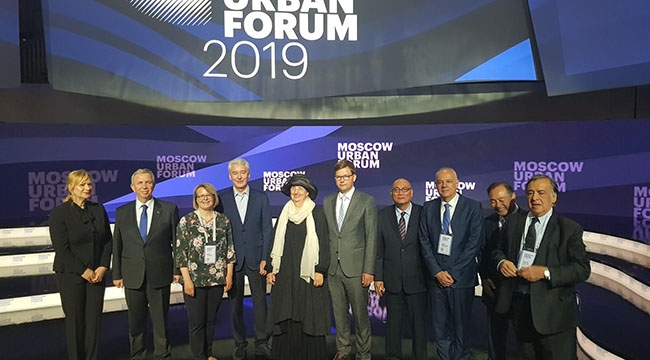 İlk Resmi Ziyaret Rusya'ya! Moskova Kentsel Forumu'nda Ankara Konuşuldu