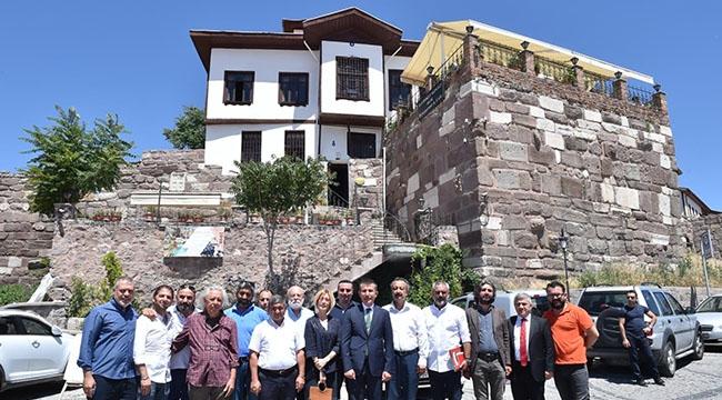 """TURİZMİN REÇETESİ KÜLTÜR YOLU… Asım Balcı: """"Kale'yi Ankaralılara Anlatmalıyız"""""""