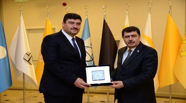 Vali Şahin'den Başkan Oğuz'a Ziyaret