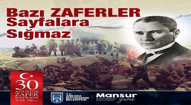 Ankara 30 Ağustos Zafer Bayramı Kutlamalarına Hazır