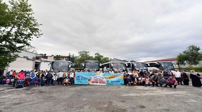 Ankara Büyükşehir Belediyesi'nden Vatandaşlara Tatil Kampı
