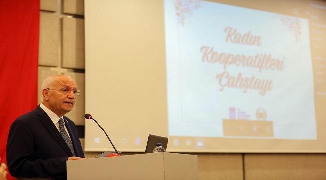Fethi Yaşar Kadın Kooperatifleri Çalıştayı'nda