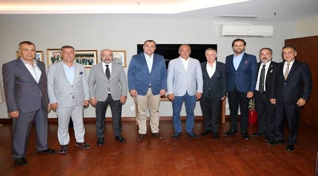 Gençlerbirliği'nden Alper Taşdelen'e Ziyaret