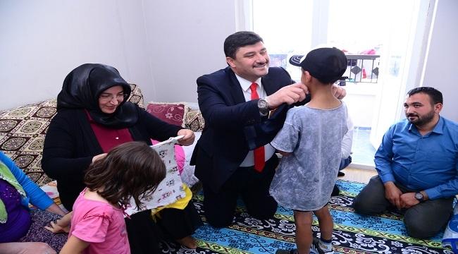 Kahramankazan Belediye Başkanı'ndan Anlamlı Ziyaret