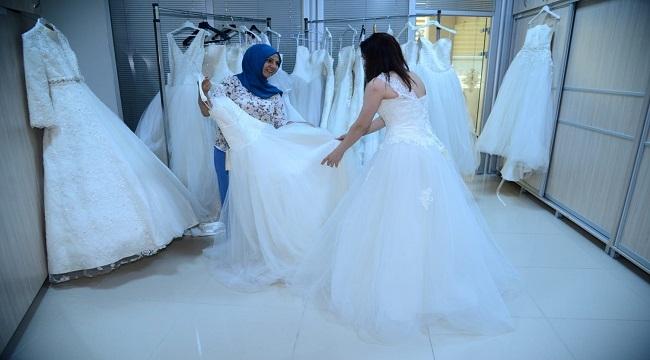 Kahramankazan'dan Düğün Hazırlığı Yapan Dar Gelirli Çiftlere Müjde