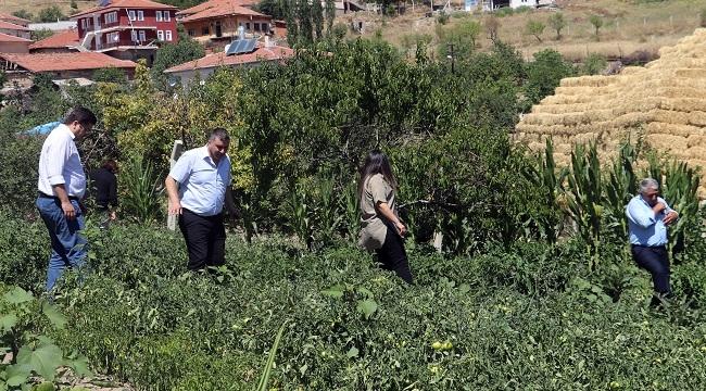 Keçiören'de Organik Tarım İçin Saha Gezileri Başladı