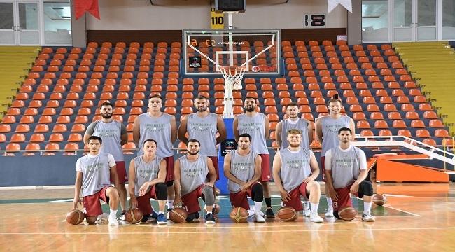 Mamak Belediyesi Basketbol Takımı'ndan Antrenman
