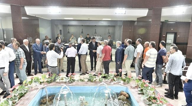 Mamak Belediyesi Mesainin İlk Gününe Bayramlaşma ile Başladı