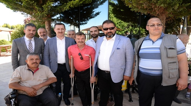Pursaklar'da Engelliler Sosyal Tesisi Hizmete Açıldı
