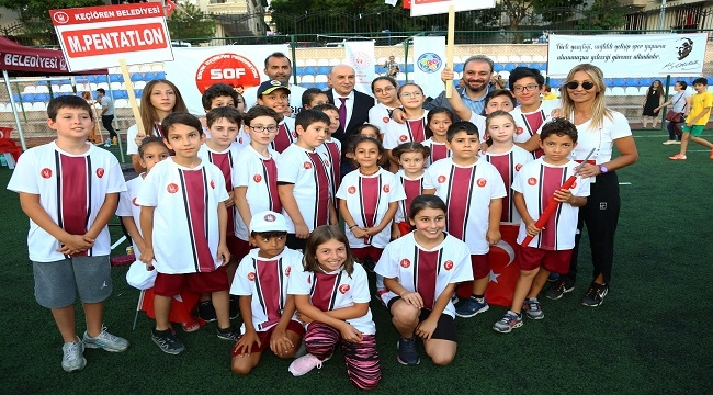 Turgut Altınok, Yaz Spor Okullarının Final Heyecanına Ortak Oldu