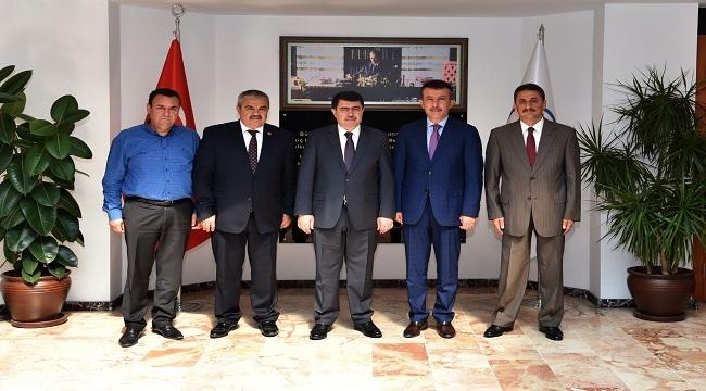 Vali Şahin'den Asım Balcı'ya Ziyaret