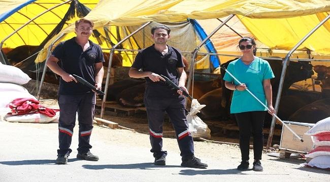 Yenimahalle'de Kurban Yakalama Timi İş Başında