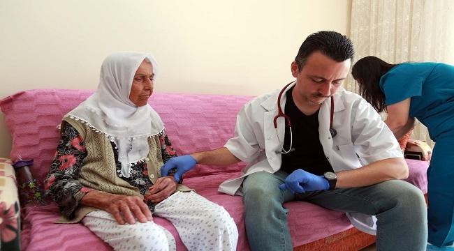 Yenimahalle'den Hastalara Evde Sağlık Hizmeti