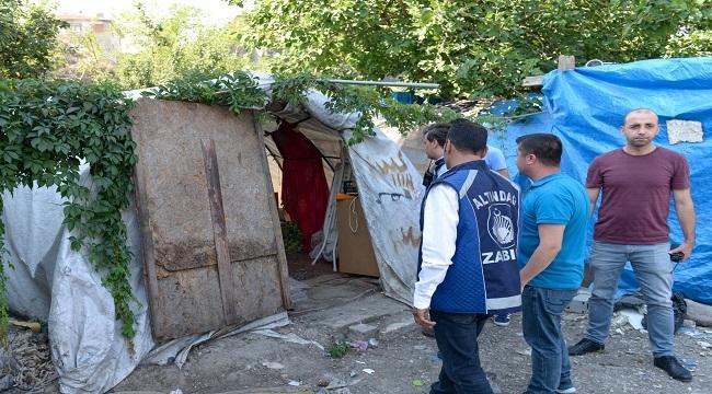 Altındağ'da Kaçak Hurdacılara