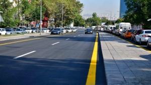 Ankara'da Gençlik Caddesi Yeni Görünümüne Kavuştu