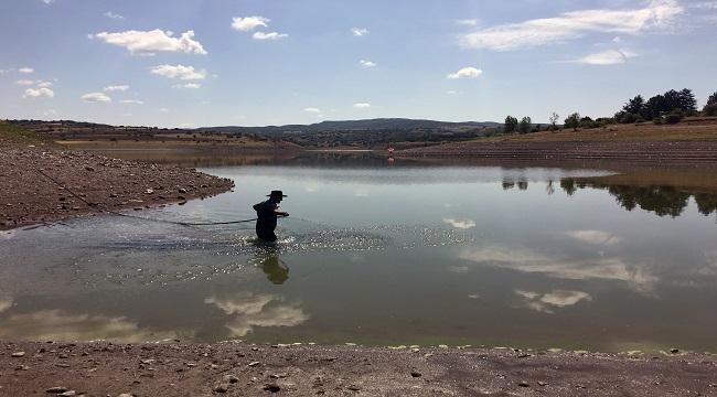 Ankara'da İçme Suyu Barajları Kaynaklarında Temizleniyor