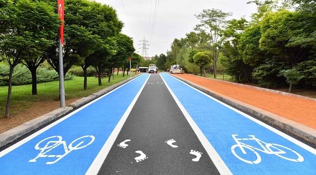 Başkent'te Çevreci Bisiklet Yolları