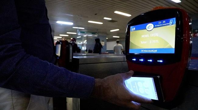 Başkent'te Mobil Bilet Dönemi Başladı
