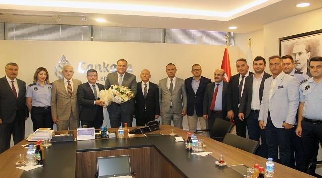 Başkent Zabıtası'ndan Alper Taşdelen'e Ziyaret