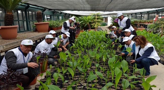 Büyükşehir'in Bahçıvanlık Kursuna Yoğun İlgi