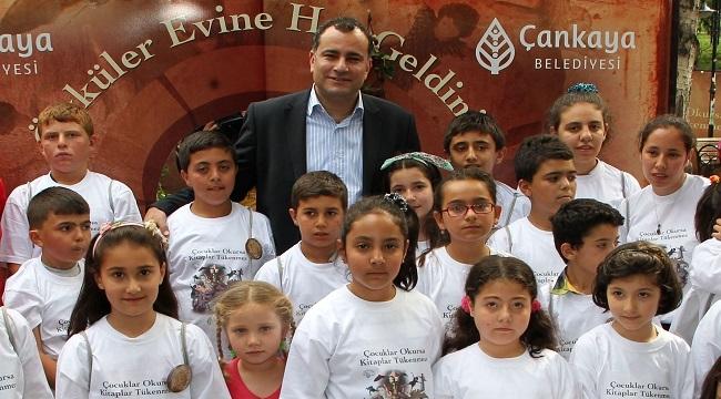 Çankaya'da Sesli Çocuk Kitapları 172 Bin Çocuğa Ulaştı