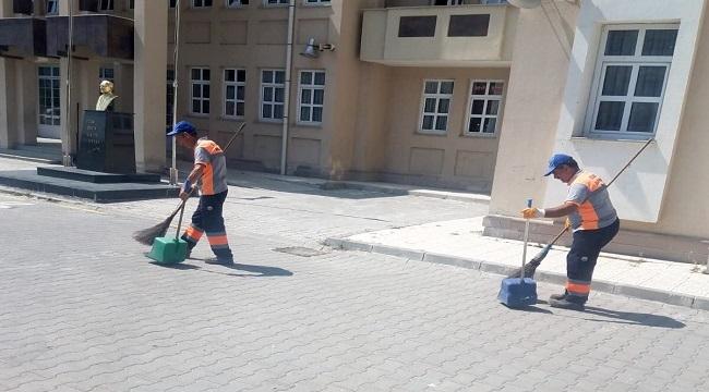 Gölbaşı'nda Okullarda Temizlik Zili Çaldı