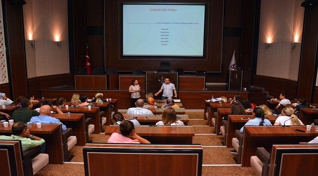 Keçiören'de Personele İletişim Semineri Düzenlendi