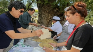 Yenimahalle'de Pilav Şenliği
