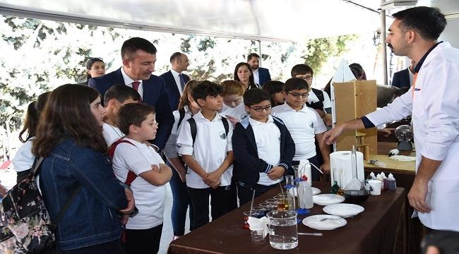 Altındağ'da Bilim ve Sanat Çocukların Ayağına Geldi