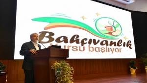 Ankara'da Bahçıvanlık Kursu Başladı