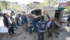 Ankara Zabıtası İş Başında