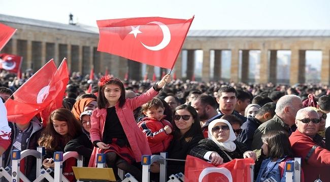 Başkent'te Cumhuriyet Bayramı Coşkusu Yaşandı