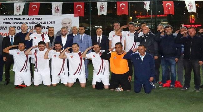Keçiören Belediyesi Futbol Takımı, Turnuva Şampiyonu Oldu
