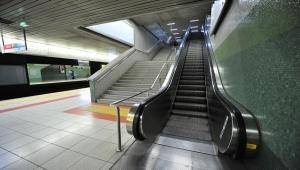 Metro'daki Yürüyen Merdivenlerle İlgili Açıklama