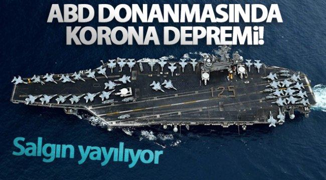 ABD donanmasında korona virüs salgını yayılıyor
