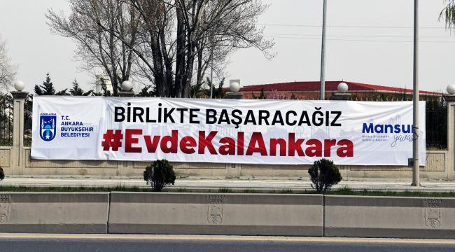 Ankara Büyükşehir Belediyesi'nden yardım kampanyası