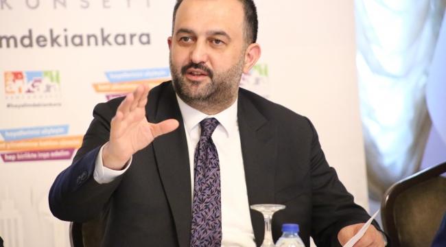 Ankara Kent Konseyi Başkanı Yılmaz'dan virüse karşı toplumsal dayanışma çağrısı