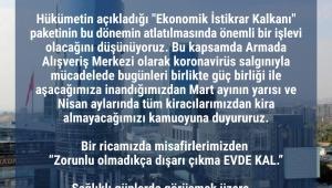 AVM yönetimlerinden Kovid-19 tedbirleri: