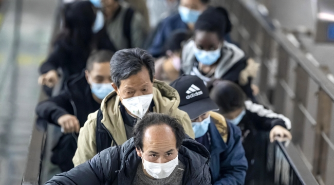 Çin'de Kovid-19 salgınında 78 yeni vaka