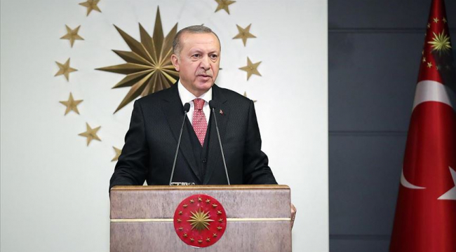 """Cumhurbaşkanı Erdoğan""""Biz Bize Yeteriz Türkiyem"""" sloganıyla bir kampanya başlatıldığını duyurdu."""