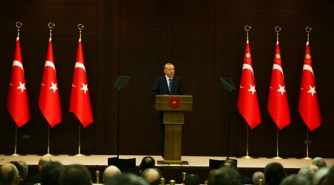 Cumhurbaşkanı Erdoğan: 'Yeni bir döneme giriyoruz'