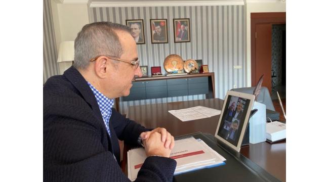 Dört parti başkanından telekonferanslı toplantı