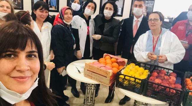 Gölbaşı Belediyesi sağlık çalışanlarını unutmadı