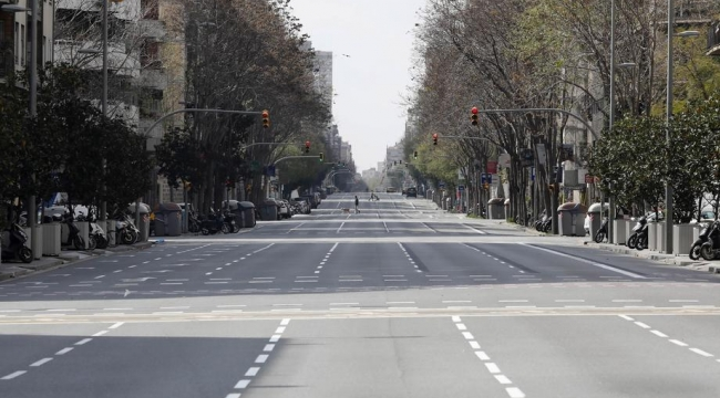 İspanya'da 410 kişi daha hayatını kaybetti