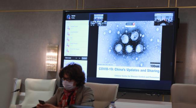 Koronavirüs Bilim Kurulu üyeleri Çin ile video konferans gerçekleştirildi